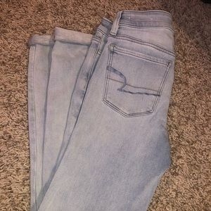 american eagle washout jeans